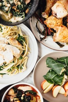 Chicken and Winter Greens Recipes