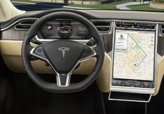 Tesla-Model-S-Dashboard
