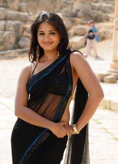 Anuska Saree Stills