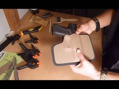 How to make a Kydex holster for a gun DIY - All