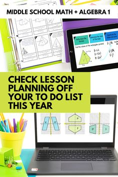 Are you ready for this school year? Get off of the hamster wheel of always having to prep and plan your lessons. You can use your time and energy to better serve your students. | maneuveringthemiddle.com First Year Teaching, Teaching Math, Professional Learning Communities, Hamster Wheel, Maths Algebra, 8th Grade Math, Teaching Materials, Math Teacher, Classroom Activities