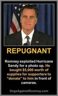 Wow. Romney's fake just like Ryan who pretended to wash already washed dishes at a food bank for a photo op. Birds of a feather!