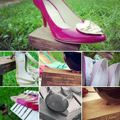 Women love shoes and wine ;)