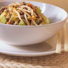 Chop soui | Ricardo Asian Recipes, Healthy Recipes, Ethnic Recipes, Chinese Recipes, Vegetable Chop Suey, Beef Chop Suey, Turkey Chops, Chia Benefits, Chopped Steak