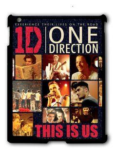 One Direction Experience Their Lives on The Road Ipad Case, Available For Ipad 2, Ipad 3, Ipad 4 , Ipad Mini And Ipad Air