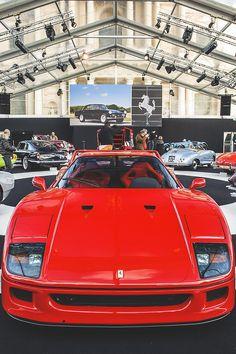 Ferrari F40   Drive a Ferrari @ http://www.globalracingschools.com