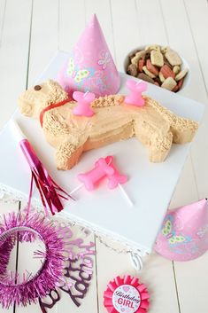 We have products to help you bake your dog a birthday cake, make pawprint mini muffins and puppy friendly cookies. Dog Cupcakes, Animal Cupcakes, Cat Birthday, Animal Birthday, Dog Bone Cake, Dachshund Cake, Shaped Cake Pans, Diy Stuffed Animals, Pawprint