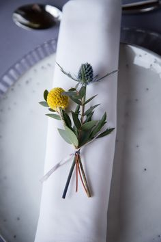 5 Ways to use Craspedia in your Wedding Flowers — Webb and Farrer - Wedding Florist - Brighton, Sussex and the South East Mustard Yellow Wedding, Yellow Wedding Flowers, Floral Wedding, Mustard Wedding Theme, Blue Wedding, Yellow Weddings, Summer Wedding, Corsage Wedding, Flower Bouquet Wedding
