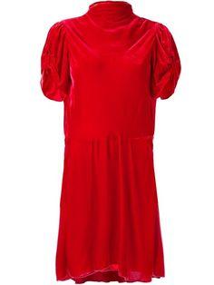 Isabel Marant Étoile 'Lazy' velvet dress