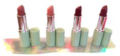 Clinique Different Lipstick ~All Four Shades For One Price #Clinique