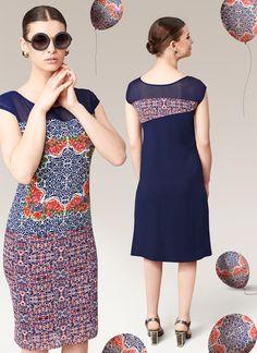 Blue fancy office wear kurtis with wholesale rate