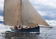 Scilly Isles pilot cutter replica