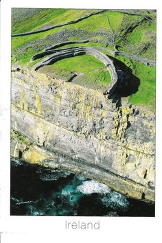 Dun Aonghasa, a prehistoric stone fort on Inis Mor - one of the locations in the book. I like the feeling of ancient/mystery this fort inspires.