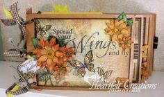 Heartfelt Creations | Classic Sunflower Mini Album