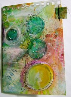 Mixed Media Journal  18 by Robenmariesmith on Etsy, $29.95