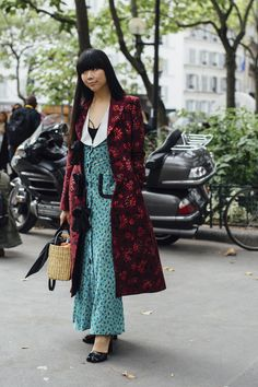 Paris Fashion Week Street Style Spring 2018 Day 3 Cont., The Best Street Style from Paris Fashion Week available to view at TheImpression.com