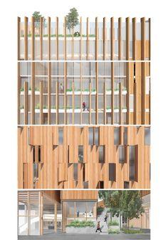 Réinventer Paris - MICHAEL GREEN ARCHITECTURE