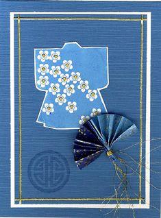 Beautful Asian themed handmade card