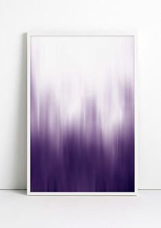 """Adding color to a room just go a whole lot simpler! This ombre print is an easy way to add color eye-catching color.Dimensions: Measures 13"""" x 19"""".Details: Matte archival paper.Fybur is a multi-dimensional space where magical and whimsical objects come to life. Fueled by a morning cup of homemade..."""