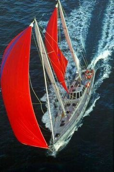 Red sails   #sailing #yachts #marine travel