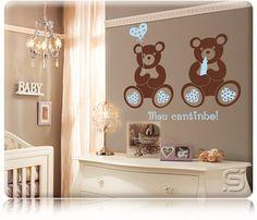 Linha Kids - Stixx Adesivos Decorativos - Decoração de Quartos de Bebês - Guia do Bebê