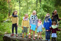 Children are rockin' the Cozy Cowls. Photography by: Stephanie Sanchez Photography