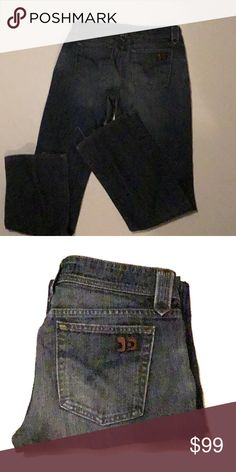 """Ladies Joe's Jeans Joe's Jeans  Approximate Measurements should not be expected as exact though, please refer to Size.   (laying flat):  Waist: 16"""" Front Rise:Just Shy Of 8"""" Back Rise: 13"""" Inseam:33"""" Leg Opening: 10""""  Listing: CC101  🚭Smoke-Free Home 🏡 Joe's Jeans Jeans Boot Cut"""