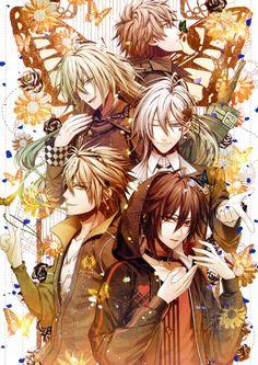 Tags: Scan, IDEA FACTORY, Hanamura Mai, Official Art, AMNESIA, Shin (AMNESIA), Ikki (AMNESIA), Kent (AMNESIA), Toma (AMNESIA), Ukyo (AMNESIA)