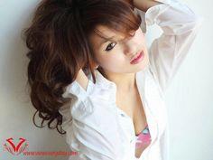 Top 10 Most Beautiful Khmer Female Stars in 2020 Female Stars, Most Beautiful, Ruffle Blouse, Beauty, Tops, Women, Fun, Fashion, Moda