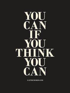 I think I can...