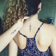 Mother daughter tatts