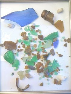 Sea glass, Beach glass...
