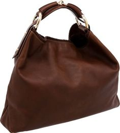 Gucci by Tom Ford Natural Brown Leather Horsebit Hobo Bag Kabelky Gucci a29e1901ecd
