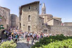 Girona in Blütenpracht