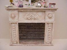 Miniaturas para casas de muñecas, escala 1/12, chimenea de Cantimpalominiaturas en Etsy