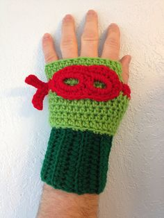 Crochet Item Ninja Turtle Inspired Crochet by MonAmiCreationz