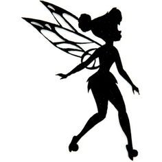 silhouette tinkerbell banner - Google Search