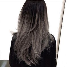 GREY OMBRÉ THIS IS SO PRETTY OMG: