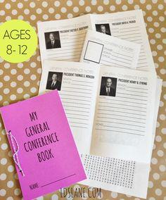 General Conference Mini Books (free download)