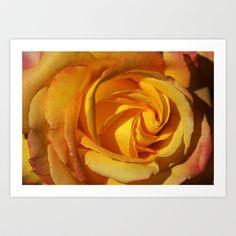 Rose Orient 2032 Art Print by metamorphosa - $22.88