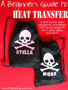 How to use Heat Transfer with your Silhouette - Tips and Tricks No One Ever Told You!