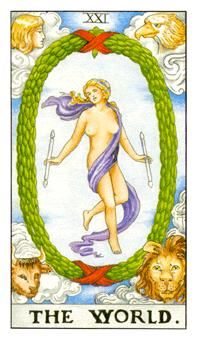 Learn how to read the world Card in the major arcana of the Rider waite deck of Tarot cards from Amanda Goldson, who is a Tarot Coach and Author and has over 16 years experience of reading and teaching tarot cards The World Tarot Card, Tarot Cards Major Arcana, Tarot Significado, Tarot Gratis, Rider Waite Tarot, Mandala, Free Tarot, Tarot Learning, Tarot Card Meanings