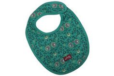 """Baby girls bib in our gorgeous """"Henna"""" print, finished with a Naartjie Kids SA label."""