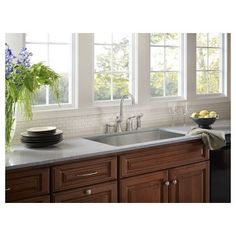 Moen CA87002 High-Arc Kitchen Faucet with Hydrolock Technology and Soap Dispense, Spot Resist Stainless