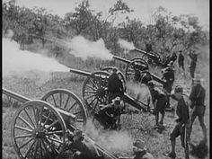 ... 10 Seconds,Military Uniform,News Event,Non US Location,Only Men,Outdoors,People,Real Time,Reportage,Shooting a Weapon,Spanish American War,US Military ...