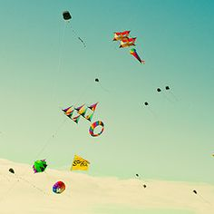 I've been itching to fly a kite, this summer. Big plans.