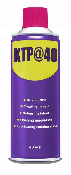 KTP@40 All innovative businesses need a squirt of this from time to time.