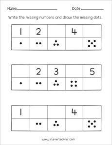 16 best missing number worksheets images in 2015 kindergarten math teaching math math classroom. Black Bedroom Furniture Sets. Home Design Ideas