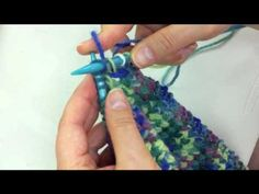 Cross Stitch for Knitted Scarf B.mp4 - YouTube