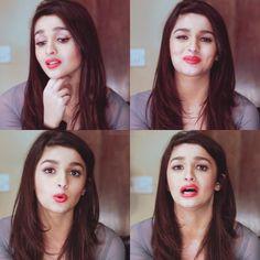 Alia Bhatt so cute 😘😘 Beautiful Bollywood Actress, Most Beautiful Indian Actress, Beautiful Actresses, Mehndi Hairstyles, Beauty Redefined, Aalia Bhatt, Alia Bhatt Cute, Alia And Varun, Indian Bridal Makeup